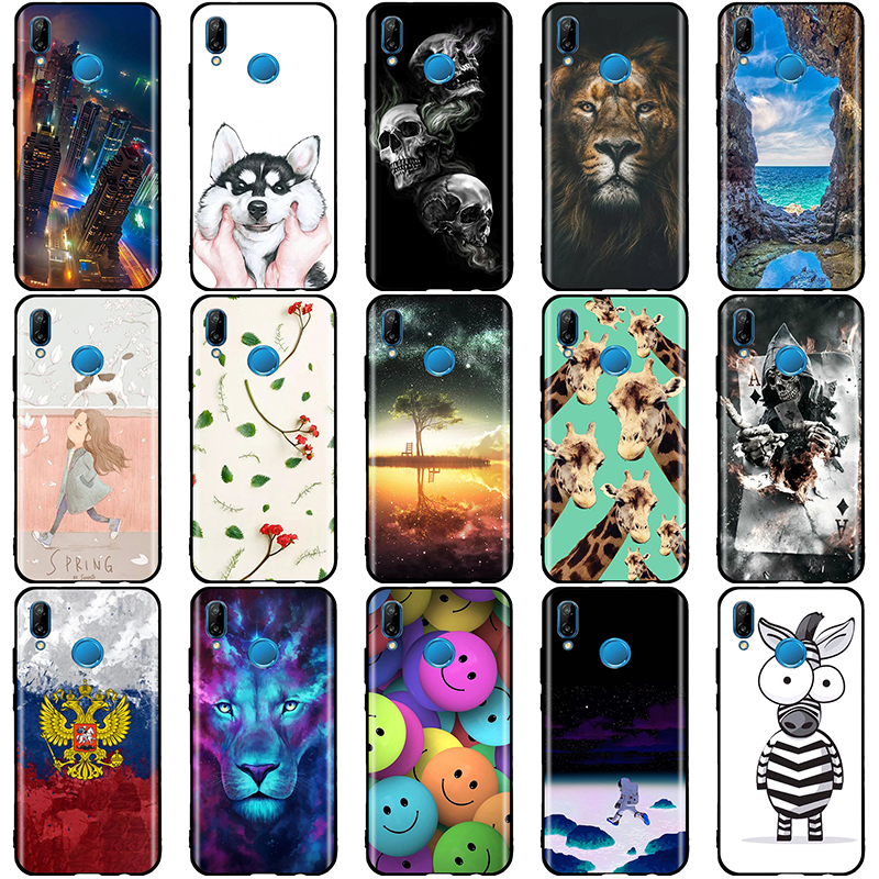 Case For Huawei P20 Lite Cover Silicon TPU for funda P20Lite