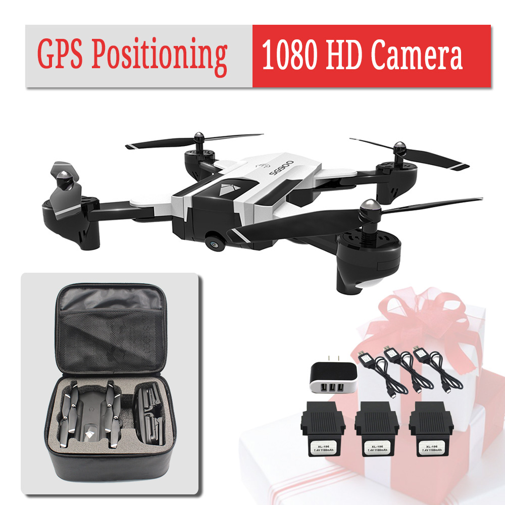 Gps-Drone Helicopter Camera Drones-Altitude-Hold Auto-Return Professional SG900S 1080P