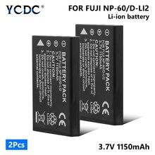 Батарея NP-60 NP60 для цифровой фотокамеры Fuji FinePix 601 50i F401 F410 F601 M603 Камера для объектива с оптическими зумом CASIO QV-R3, QV-R4, EXILIM EX-Z3