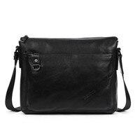 Genuine Leather bag Men Messenger Bags Casual Multifunction shoulder Crossbody Bags Handbags men leather bag