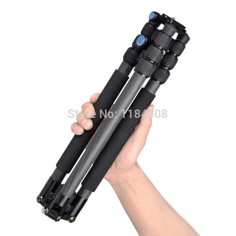 Sirui Camera Tripod Kit Professional Carbon Camera Stand Tripod Travel For Digital Camera Photo Studio Accessories T024X+C10X штатив sirui t 004bx c10x blue