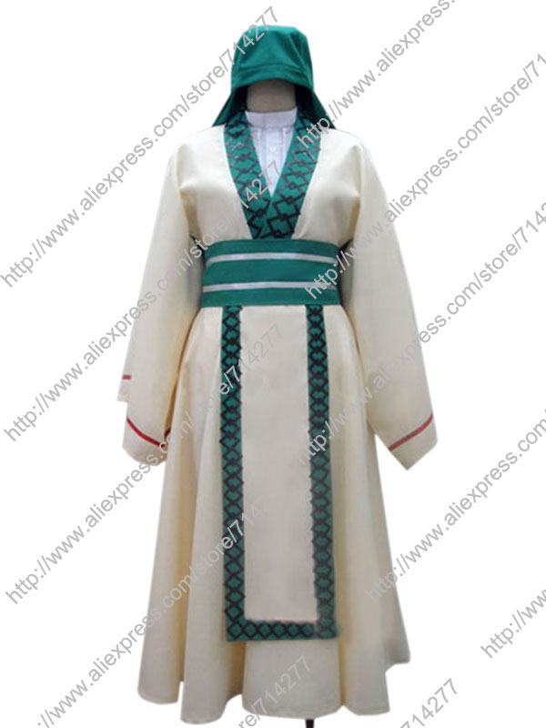 Free shipping Custom Cheap Ja far Cosplay Costume from Magi Anime clothing