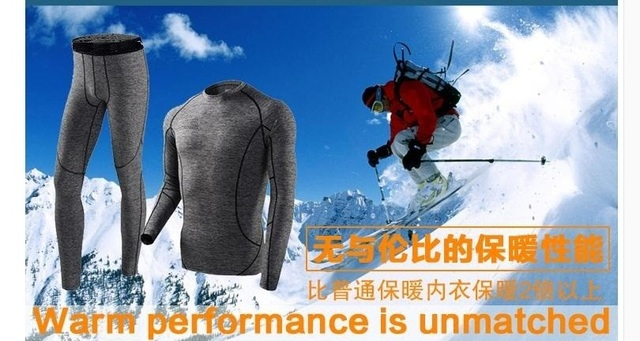 C&C Market.Free Shipping,quick-Drying,fitness men's warm Thermal underwear.sets,Brand comfortable woman autumn suits