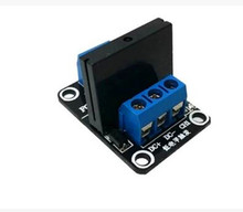 Free Shipping!!  1 channel 5V low level solid state relay 250V2A / with fuse module sensor /Electronic Component