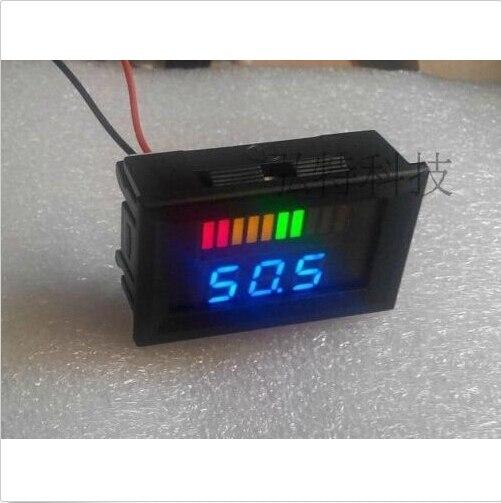 Dc Battery Tester : Dc v acid lead batteries indicator battery capacity led