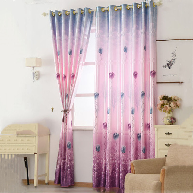 Modern Rural Style Green Living Room Decorative Curtain Bedroom ...
