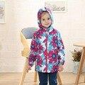 Capa Del Niño del invierno A Prueba de agua A Prueba de Viento de los Bebés Chaquetas Niños Ropa de Abrigo Cálido Forro Polar Para 3-12 T