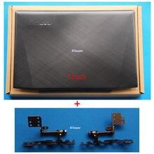 ใหม่เดิมLenovo Y50 Y50-70จอแอลซีดีฝาหลังกลับฝาครอบด้านบน+บานพับสัมผัส15.6 AM14R000300 AM14R000100