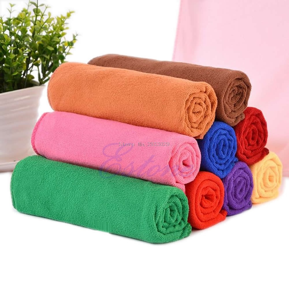 Microfiber Absorbent Bath Beach Towel 70x140cm Drying Washcloth Swimwear Shower -B116