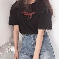 ファッションblusas 2017夏親友tシャツ韓国オル原宿刺繍半袖tシャツ女性カジュアルトップシャツ