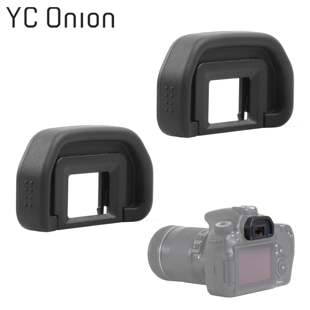 2PCS EB Eyepiece Viewfinder Eyecup Protector Replacement For Canon EOS 50D 5D Mark II 5D2 6D2 6D 80D 70D 60D 40D 30D 20D 10D