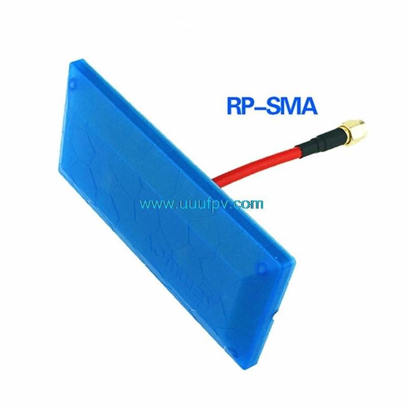 Aomway 5.8g FPV 13db alta ganancia Antenas señal diamante direccional Antenas rp-sma para RC receptor drone transmisor