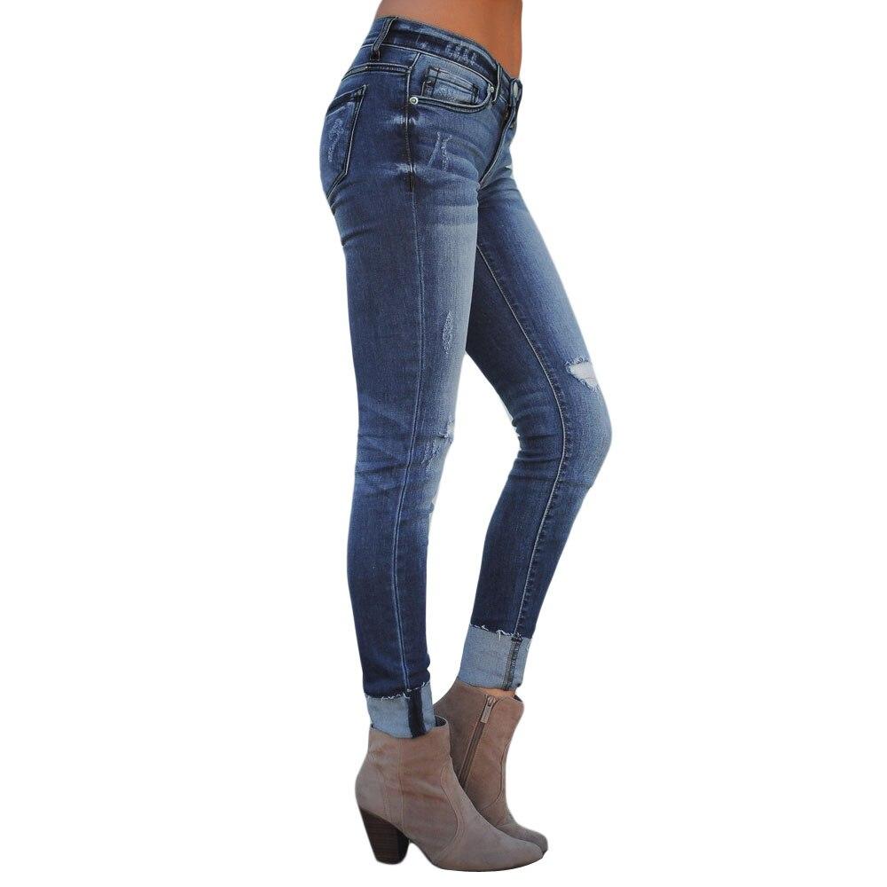 Pantalon Un Black Pantalones Vaqueros Camuflaje Como 2019 Para Azul De Jefe Ripped 5 Jeans Skinny blue Lc786035 Mujer 8nBFOqR