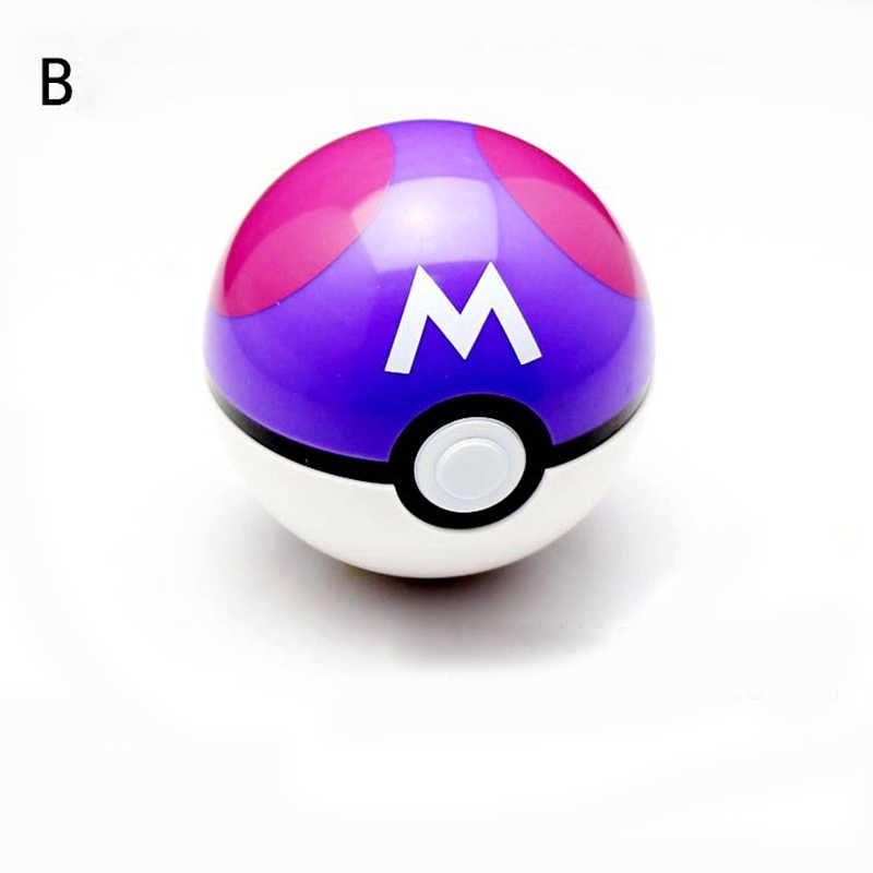13 цветов игрушечный шар для детей 1 шт. Pokeball с 1 шт. Бесплатная случайная фигурка аниме Действие Детские игрушечные фигурки