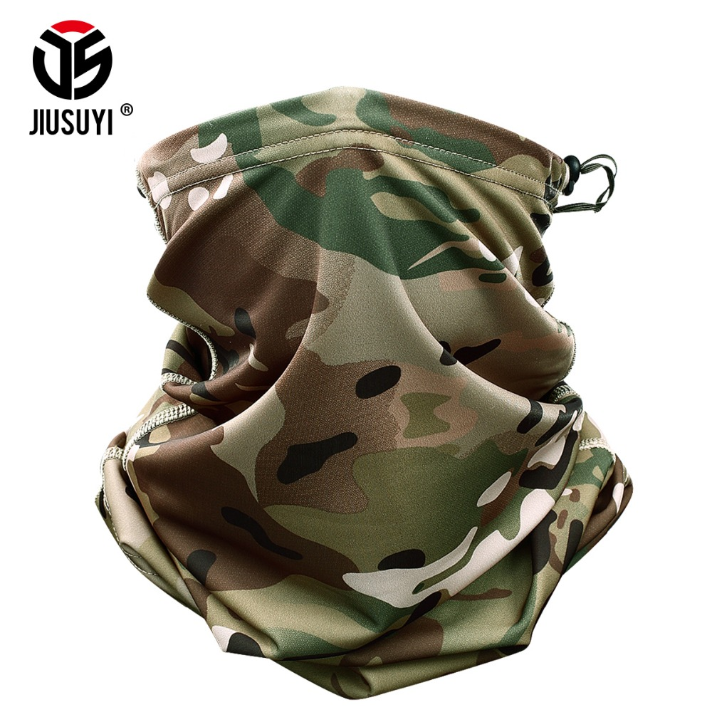 Magic Headband Multicam Camouflage Tactical Neck Warmer Tube Face Mask Bandana Head Military Bicycle Scarf Wristband Pirate Rag