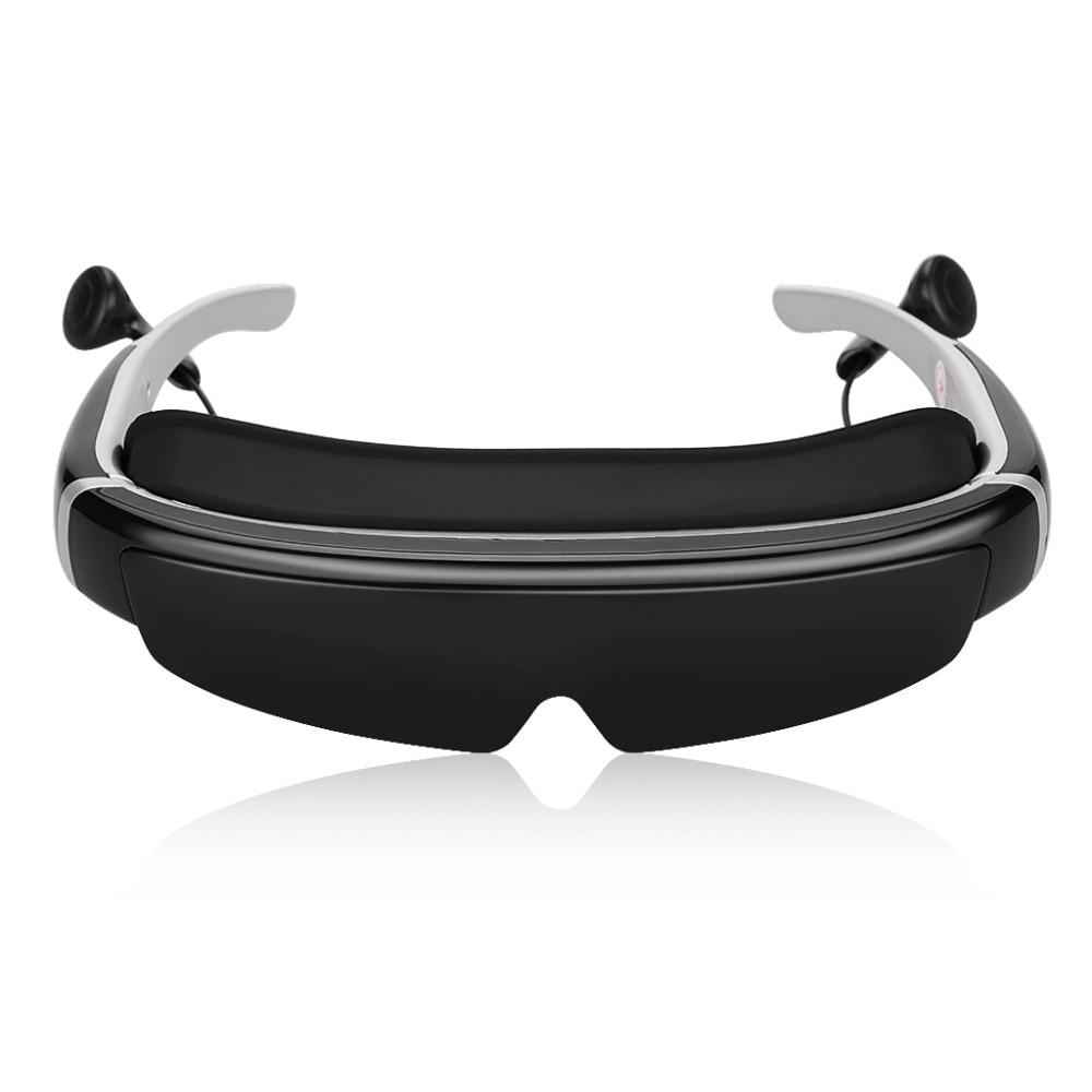 Excelvan IVS-2 98 Inch smart wireless bluetooth Glasses headphones gameScreen Portable3D Stereo movie Multi-media Player Glasses eaton ivs katalog