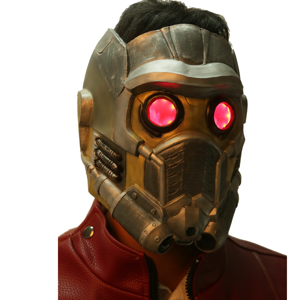 COSLIVE Star Lord Mask Guardians of the Galaxy Star Lord Mask Helmet Cosplay Star Lord Mask Cosplay Costume For Men Adult