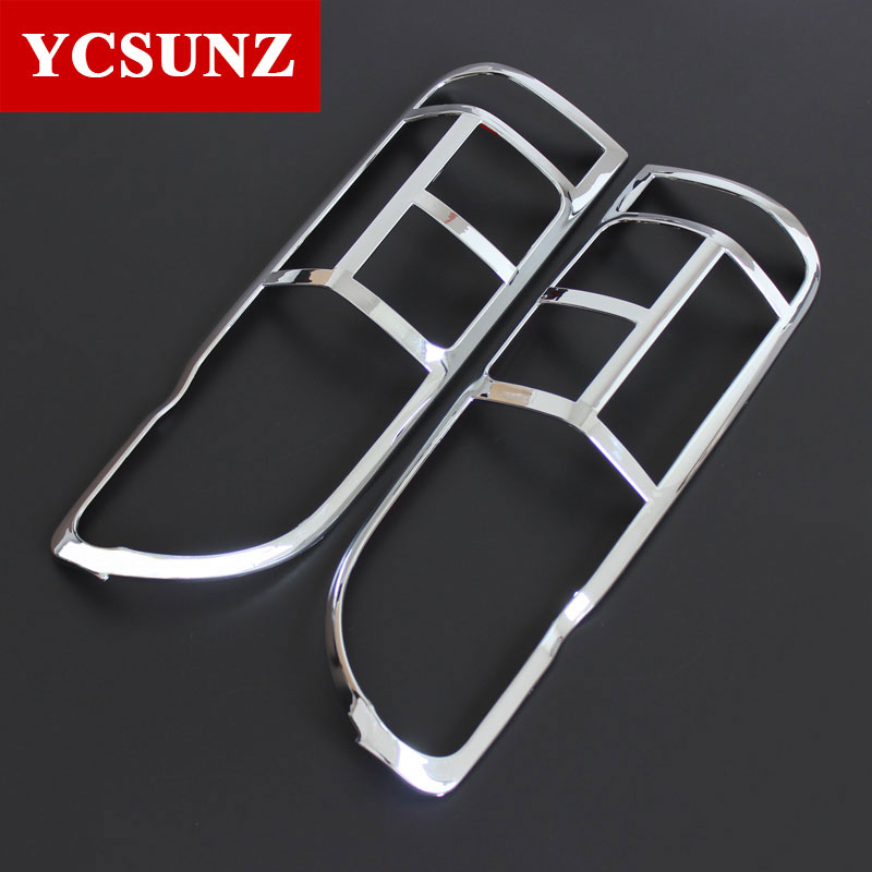 2016-2017 Tail Lights Cover For Toyota Commuter Chrome Black Carbon Fiber For Toyota Hiace 2017 Car Styling Accessories Ycsunz beijing kyosho 1 64 toyota hiace toyota limited