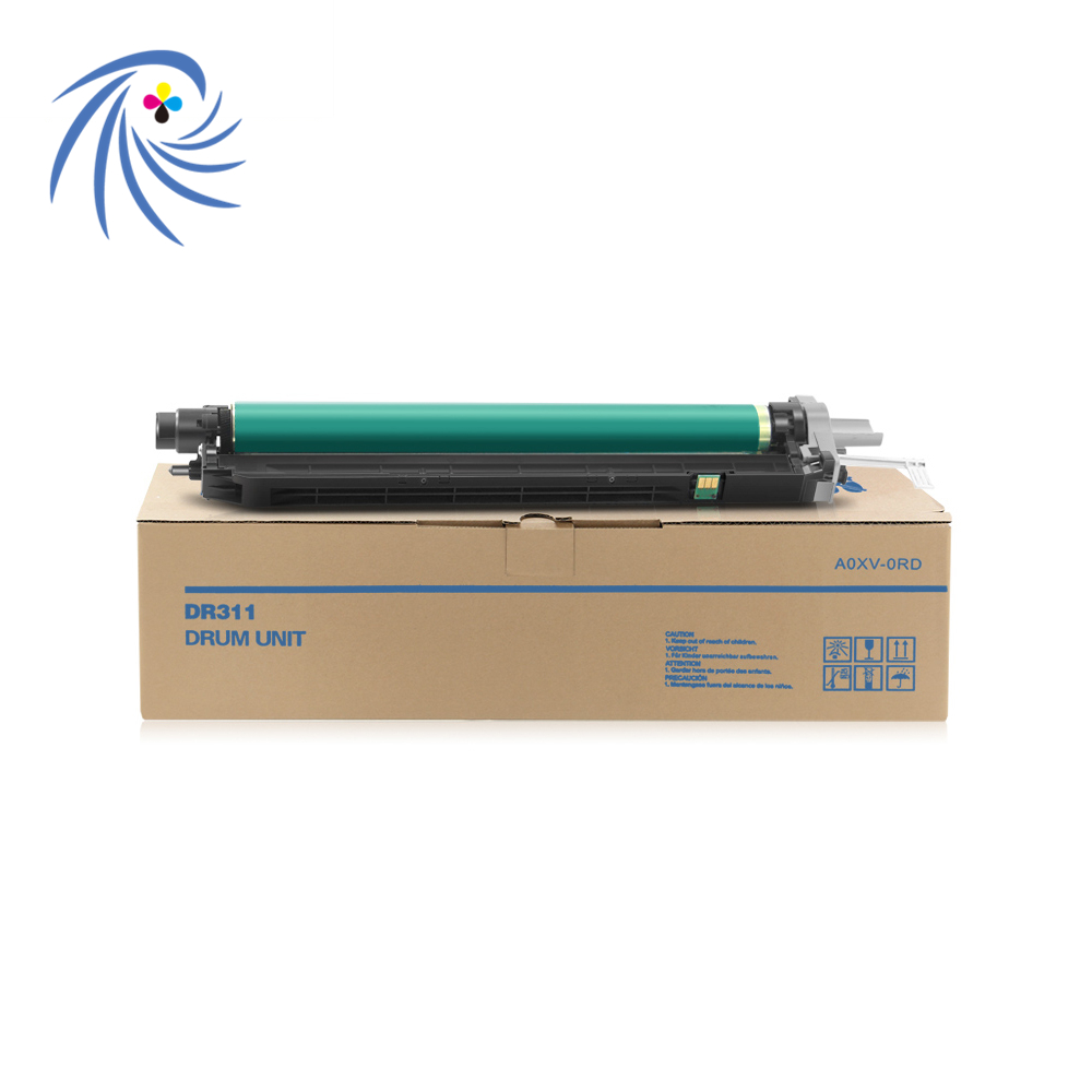 DR311 Original remanufactured Drum Unit of 110v 220v for konica minolta C220 C280 C360 C7722 photocopy machine second hand transfer unit for minolta di163 high quality photocopy machine copier parts di 163