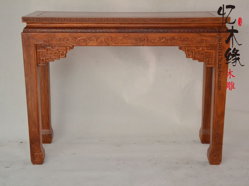 Mahogany furniture, rosewood altar altar table table Antique Chinese wood Buddha incense table tribute table for Taiwan a chinese style mahogany altar altar fokan african rosewood altar entrance hall table table