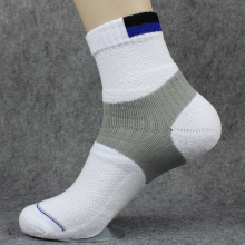 3 пары теннисных носков, плотные дышащие спортивные носки для бадминтона, для мужчин, свободный размер T, качественные, черные, белые, серые, цвета L690OLA