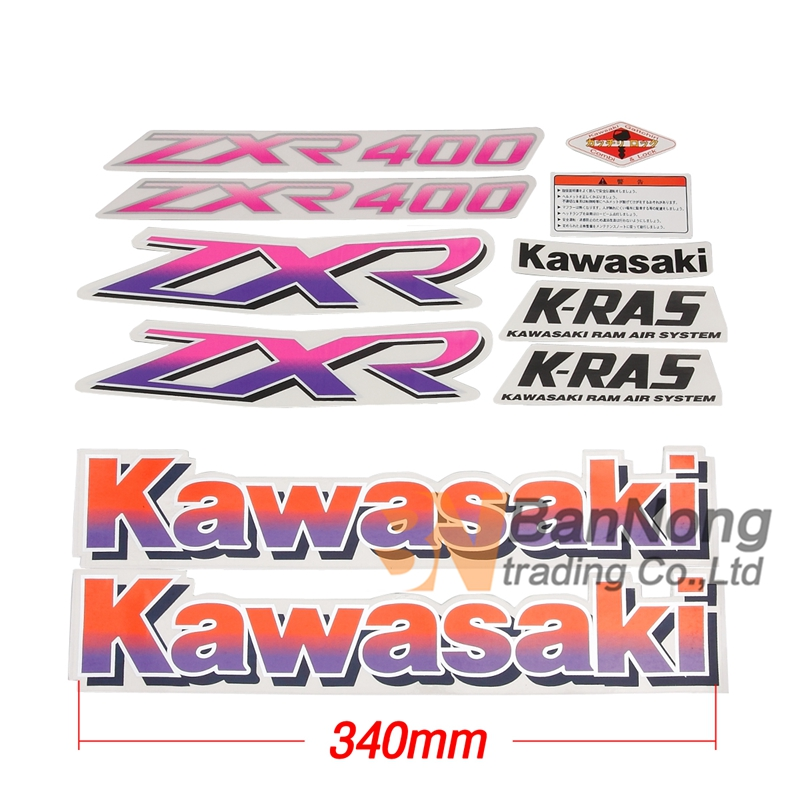 Kawasaki Zxr Decals And Stickers