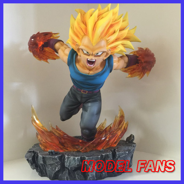 цены MODEL FANS BL Dragon Ball Z 25cm super saiyan 3 Vegeta gk resin statue figure toy for Collection