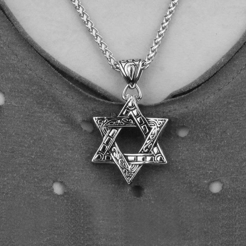HTB1HGMLQFXXXXcVXXXXq6xXFXXXj - Star of David Ornamented Pendant