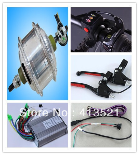 250w 24v ebike conversion kits  without wheel