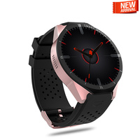 2018 Новое поступление smartwatch KW88 PRO 1 + 16 ГБ gps smart watch мужчины Android 7,0 3g Умные Электронные MTK6580 VS DM2018 M1 часы