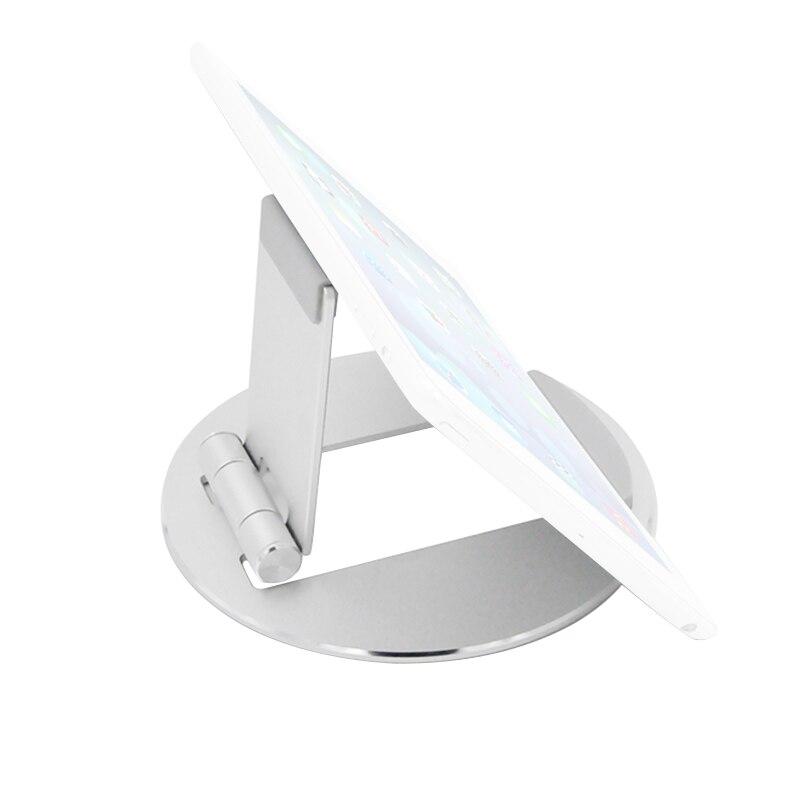 Aluminum Alloy Tablet Holder Desktop Mobile Phone Holder Stand Mount Support Bracket Universal For Ipad/Phone Folding Portable