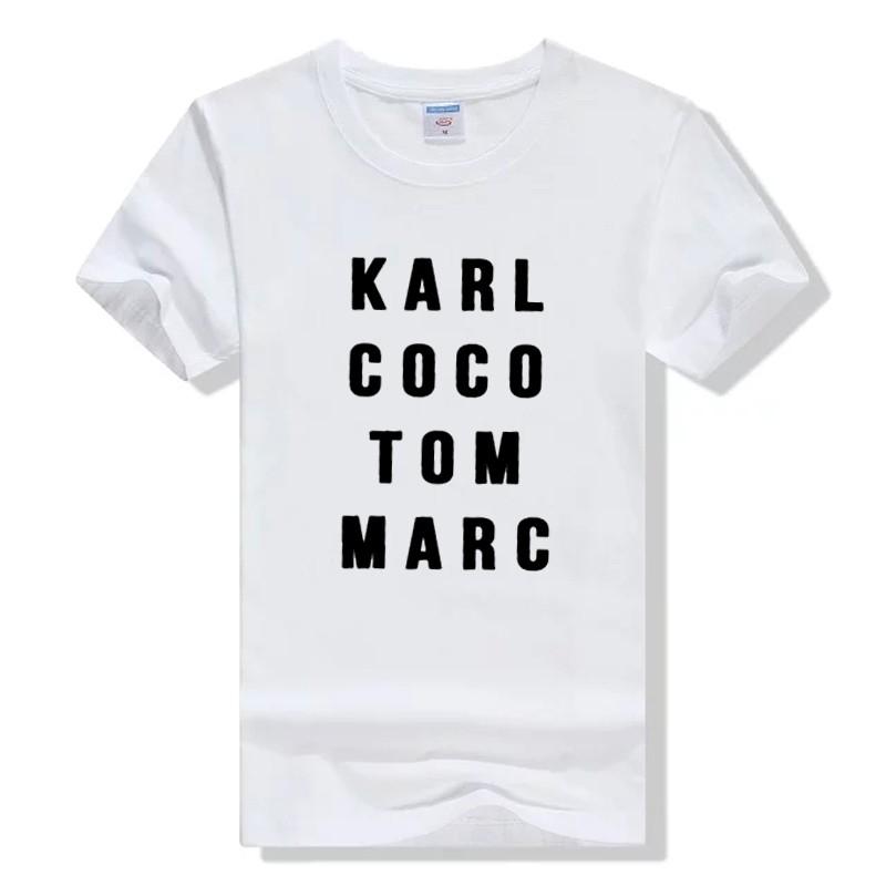 HTB1HGNOLXXXXXXAXXXXq6xXFXXXS - Karl Coco Tom Marc Fashionista T shirt PTC 113