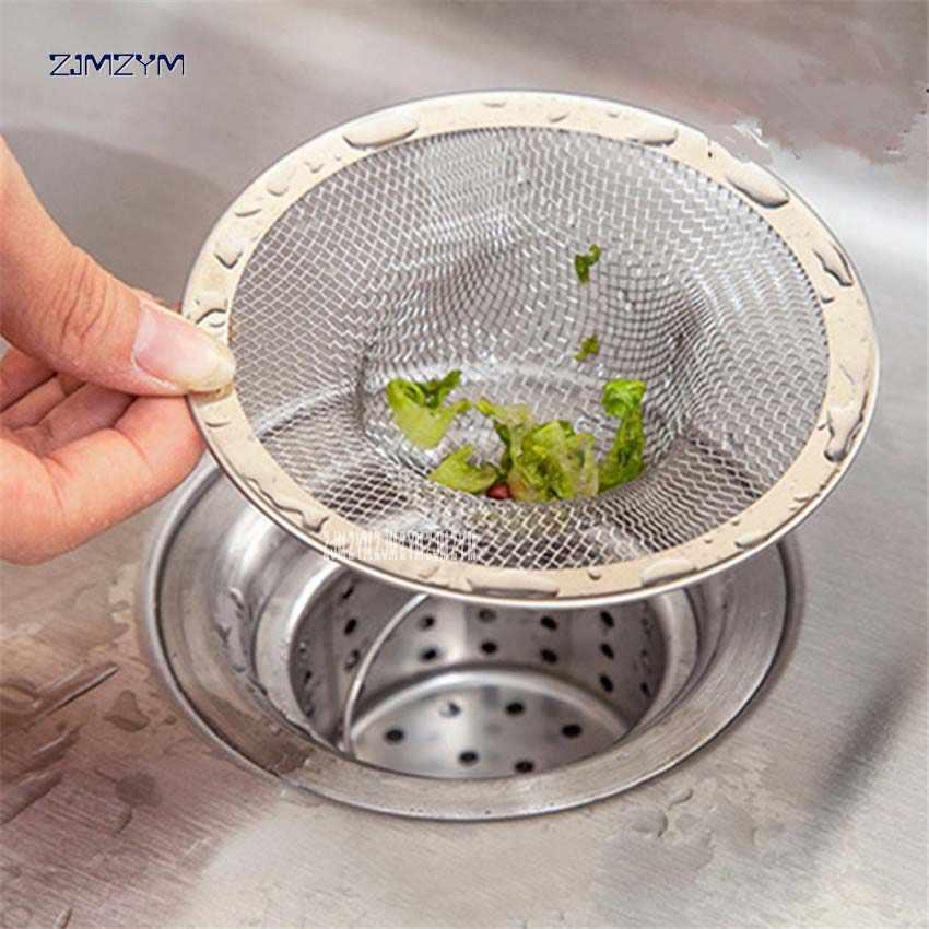 1 st Groente zwembad filter rvs afvoerputje cover Riool afvoerputje Netto zwembad badkamer keuken anti-plugging tank filte