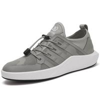2018 Hombres Al Aire Libre Zapatos Para Caminar Zapatos Deportivos Nuevos Estilos Transpirable Ligero Zapatos Para Hombre Negro Gris Envío Libre CJLC652