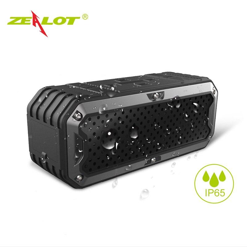 New ZEALOT S6 Waterproof Portable Wireless Bluetooth