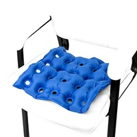 PVC Air Inflatable Waffle Seat Cushion With Pump For Wheelchair Home School Office Health Care