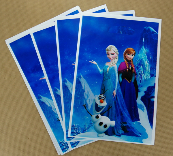 Australia Hot Frozen Loot Bags Birthday Party Decoration Gift Supplies