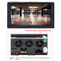 Android mirror link Car audio stereo 7 inch 2 DIN 7088D 1G 16G 4 core Touch screen Bluetooth wifi GPS navigation FM Radio