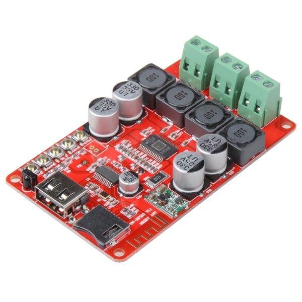 2018 nueva llegada HF183 TPA3116 2X50 W Digital receptor inalámbrico Bluetooth módulo del tablero del amplificador con Control remoto