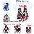 2015 Men Unique Anime T-shirt Print Red Eyes Sword Akame ga Kill Esdeath Short Sleeve Casual Cosplay T Shirt Camisetas Masculina