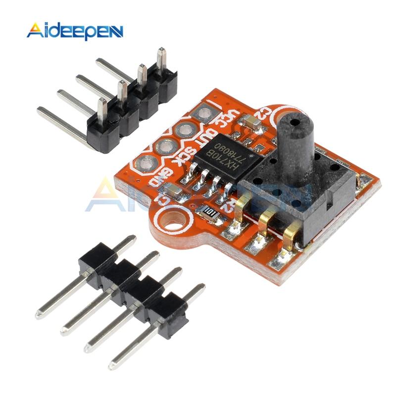DC 3.3V 5V 0-40KPa Pressure Sensor Module Connect 2.5mm Soft Tube Digital Liquid Water Level Controller Board For Arduino
