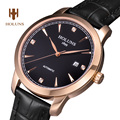 Luxury  HOLUNS watch men sapphire Stainless steel waterproof date strap Automatic machine leather watch relogio masculine