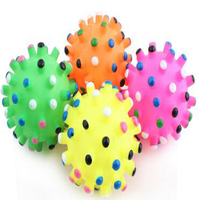 Soft Pets Toys Ball Products Puppy Toy Ball Large Dog Fidgent Toys Squeater Toys Rubber Pets Products interractive Toy1330