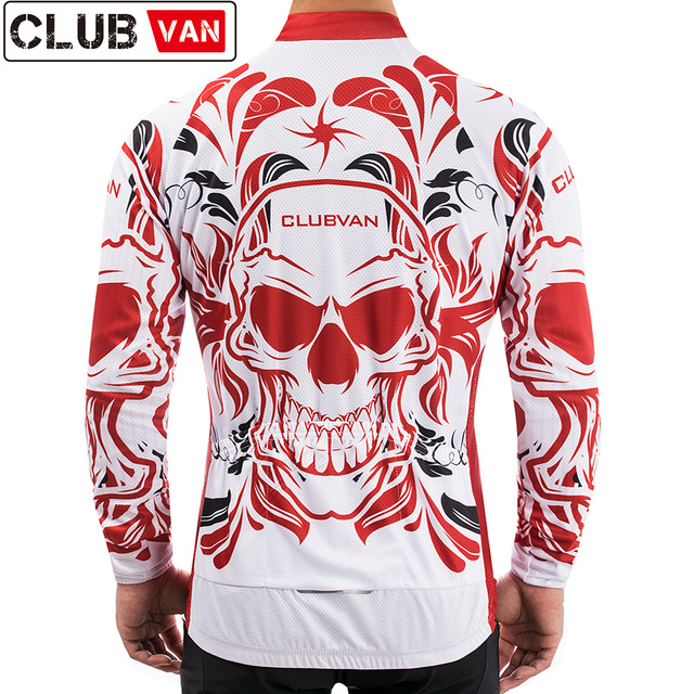 6b0dd5d18 CLUBVAN Cycling Jersey MTB Bike Clothing Wear Summer UV Bicycle Clothes De  Ciclismo For Man  2018 Moorer Long Sleeve