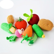 Newborn Baby Photography Props Fashion Handmade Simulation Fruit Vegetable Baby Photo props Accessory 1Year Birthday Shower Gift