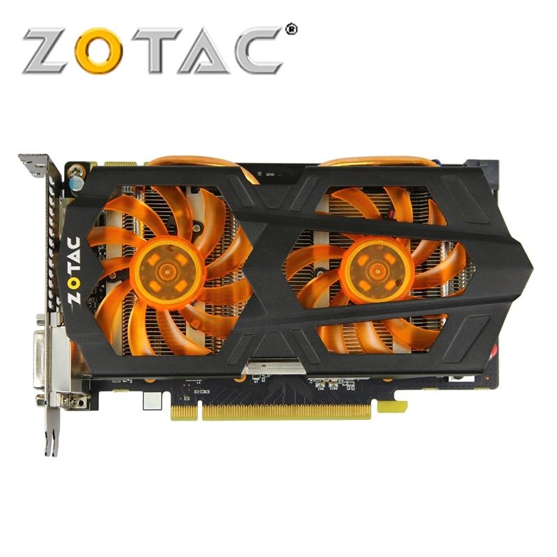 ZOTAC Video Card GeForce GTX 650Ti Boost 2GD5 192bit GDDR5 Graphics Cards for nVIDIA Original Map GTX650 Ti Boost-2GD5 2GB Hdmi
