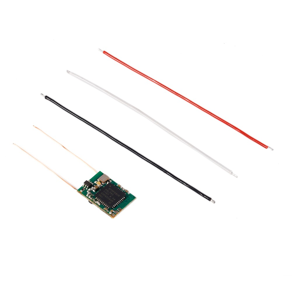S801B-D DSM 8CH RC Ultra Remote Aircraft Mini Receiver DSM2//DSMX Compatible