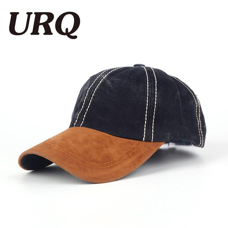 URQ Snapback Hat Baseball Cap in summer spring Cotton Soft Casquette Bone Gorras Hat For Men Women Cap Hat Letter Cap 4064