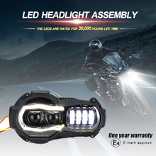 R1200GS Led Headlight For BMW R1200GSA R 1200 GS ADV Adventure Led Headlights Lights Assembly Headlamp (fit oil cooler) for chery riich m1 headlights headlight assembly front lights light headlamp 1pcs