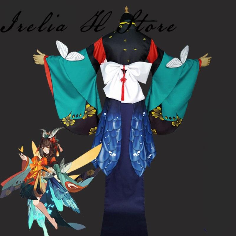 Mushishi Onmyoji Game Cosplay Costume Mushishi cosplay costume Kinomo Halloween Costumes 2